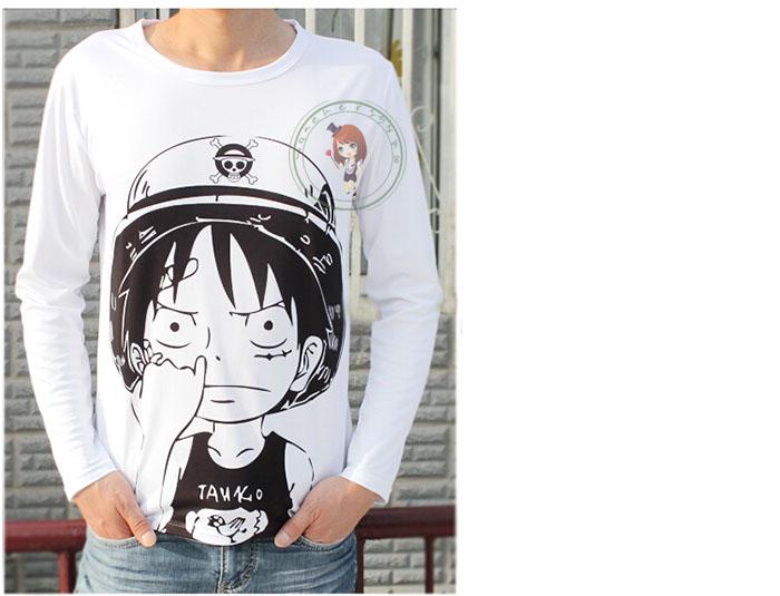Anime Fairy Tail Natsu Wendy Lucy T Shirt Unisex Long