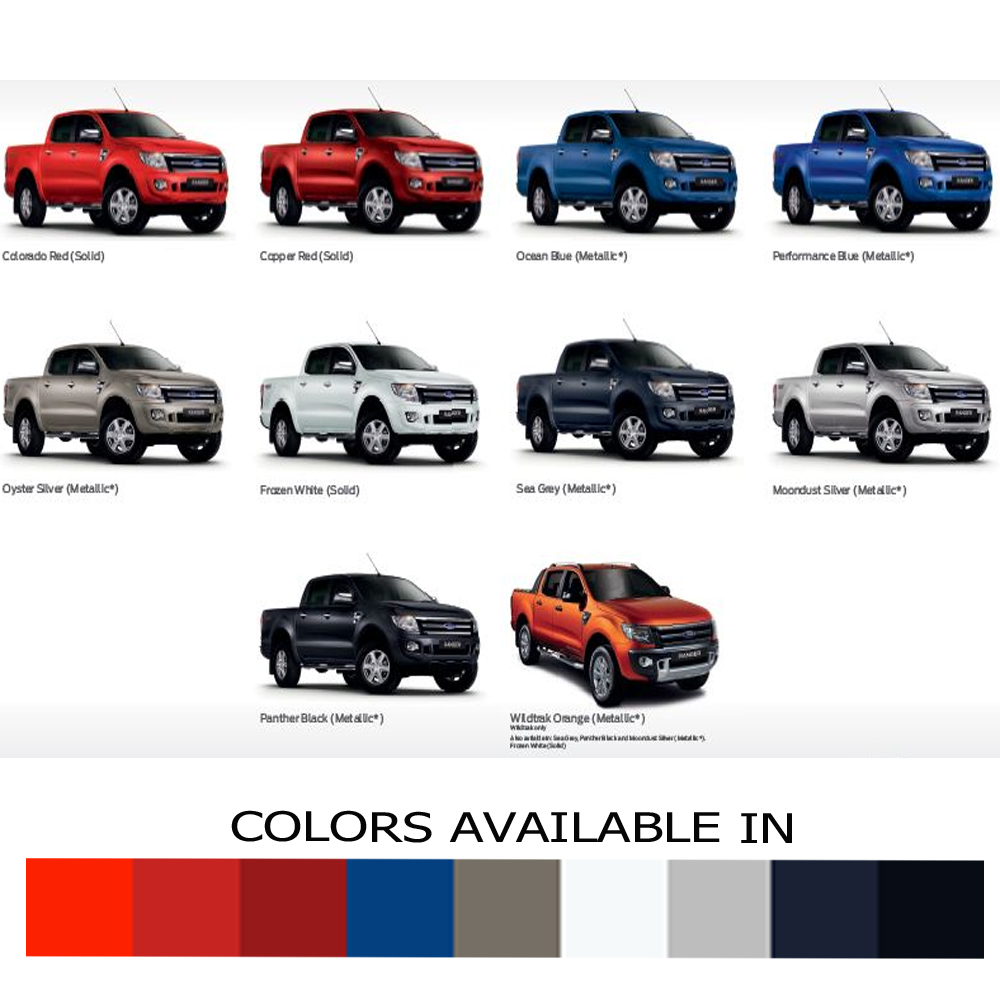 2015 Ford Truck Colors >> Truck Bed Deck Cover Tonneau For Ford Ranger Pickup T6 Ute Wildtrak Xlt Canopy | eBay