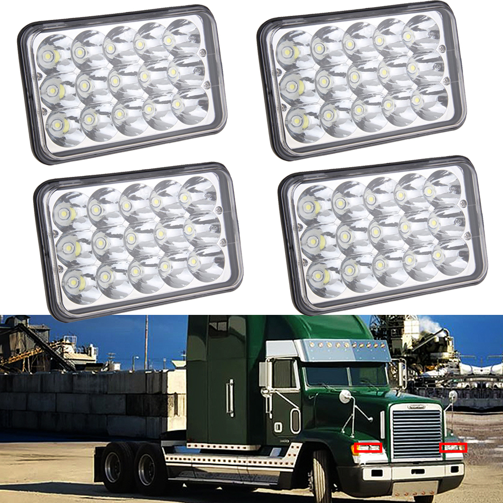 Freightliner Fld Projector Headlights : Led headlights projector lens sealed beam bulb for