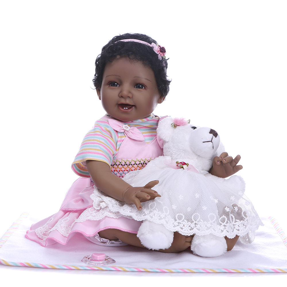 Reborn Toddler Doll 22/'/'55cm Real Looking Realistic Lifelike Hand Girl Presents