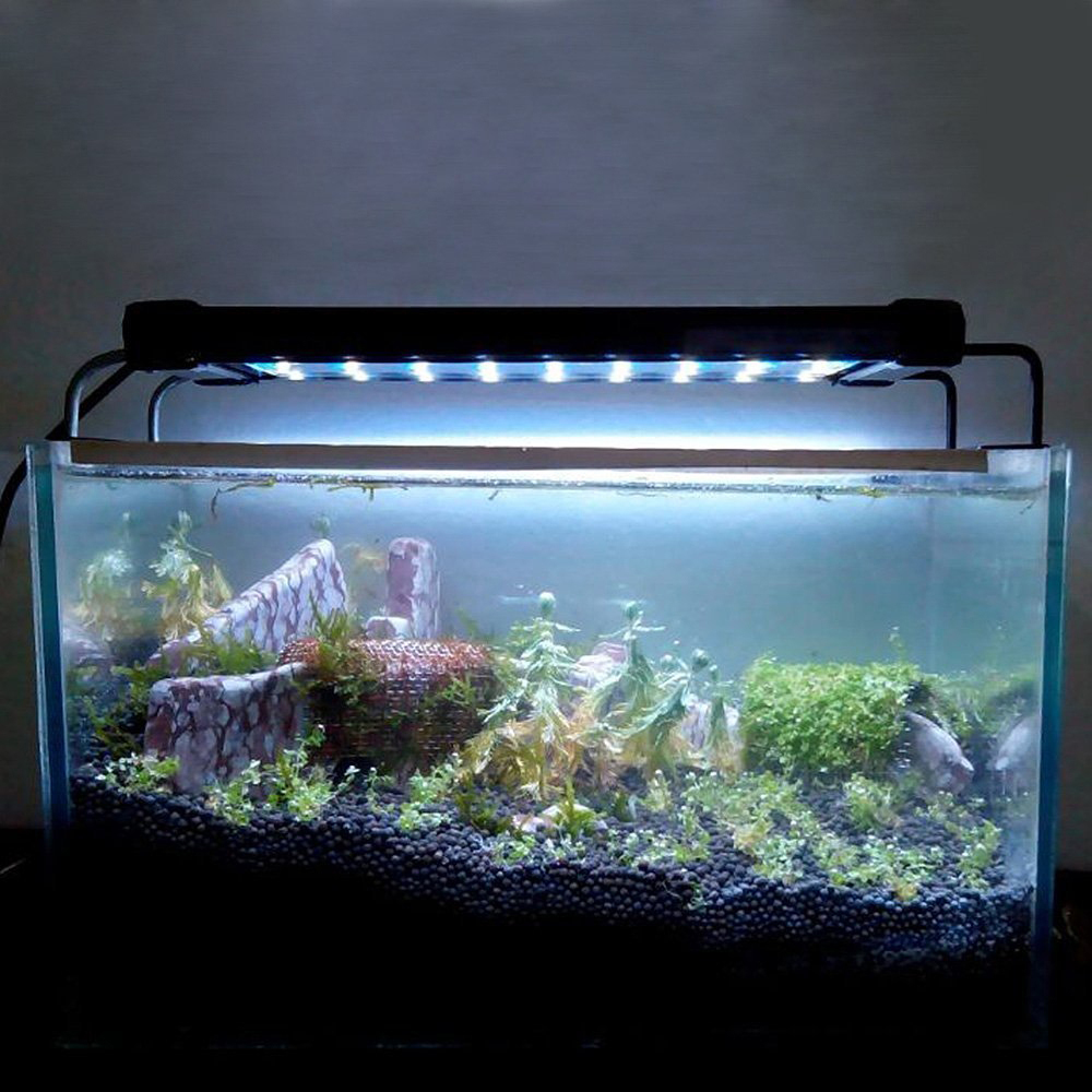 30 40 60 90 120 cm aquarium led lighting marine aqua fish plant tank light lamp ebay