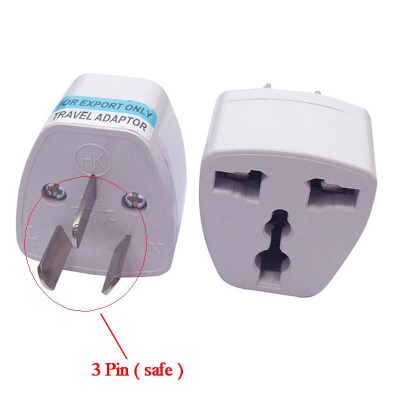 Uk Eu Universal To Au Australia 3 Pin Plug Ac Power Adapter Travel Converter Top Ebay