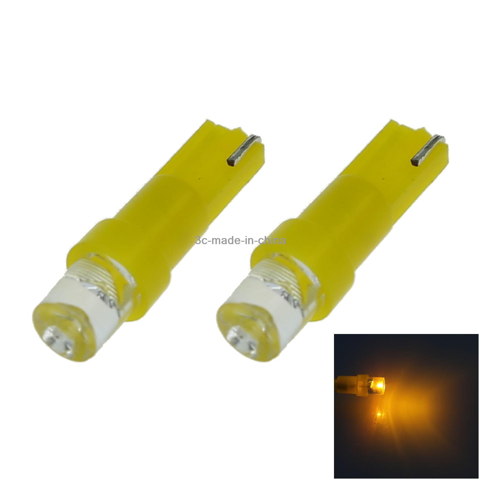 100x Pink RV T5 Gauge Light Dial Bulb Lamp 1 Emitters 5050 SMD LED 37 70 73 B001