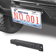 Vijay 2007-2018 Jeep Wrangler JK/&JKU Bumper Belt Original Fog Light Hole D-Ring Front Bumper License Plate Bracket