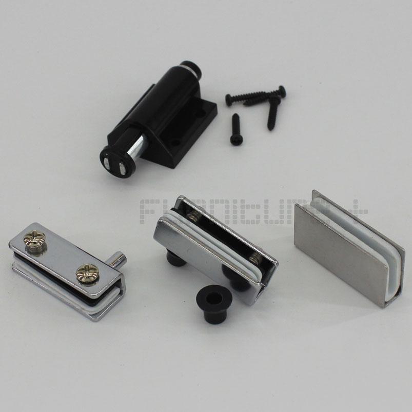 Magnetic Door Catch Pivot Hinge Glass Cabinet Magnet Press