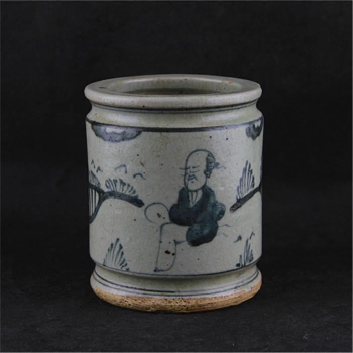 Ming Dynasty Porcelain Replica Character Antique Ceramic Pen