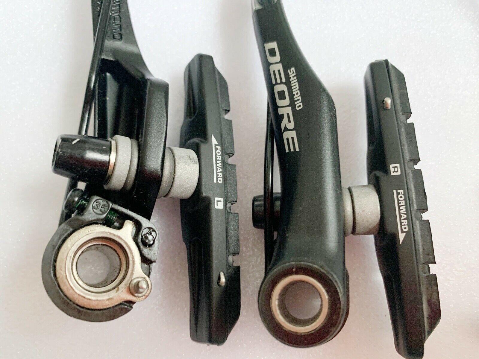 Shimano Deore BR-T610 Cycling Brakes Trekking MTB Front/&Rear V-Brake Sets US