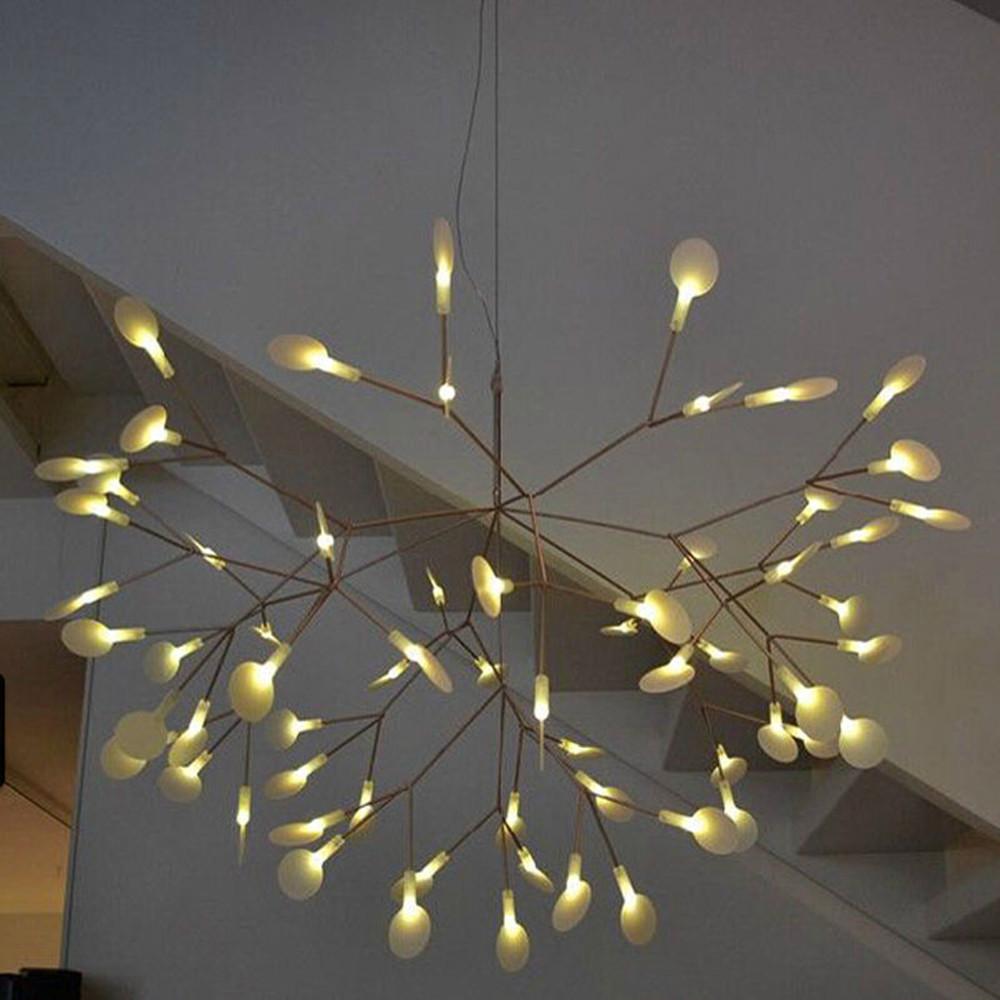 Heracleum II LED Chandelier Plant Pendant Lamp Ceiling
