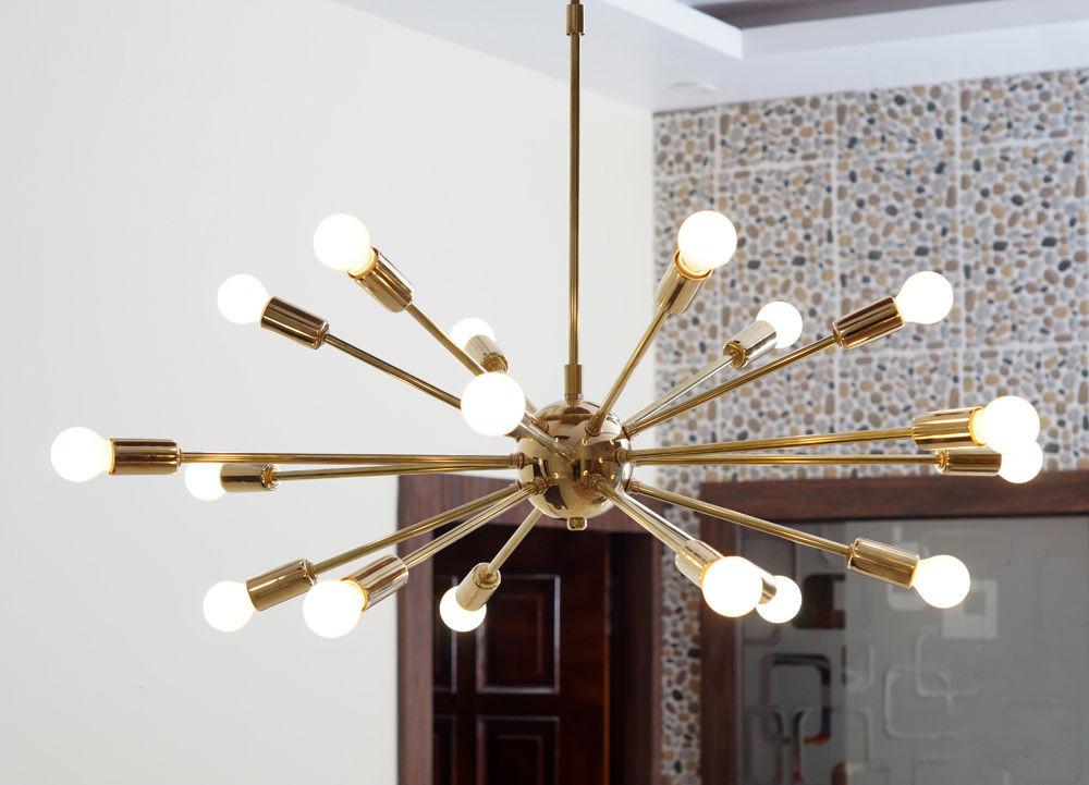 Sputnik 18 Light Chandelier Pendant