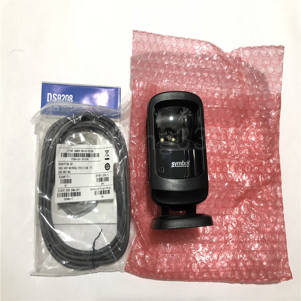 New Zebra Motorola Symbol Ds9208 Barcode Scanner With Cable Ebay