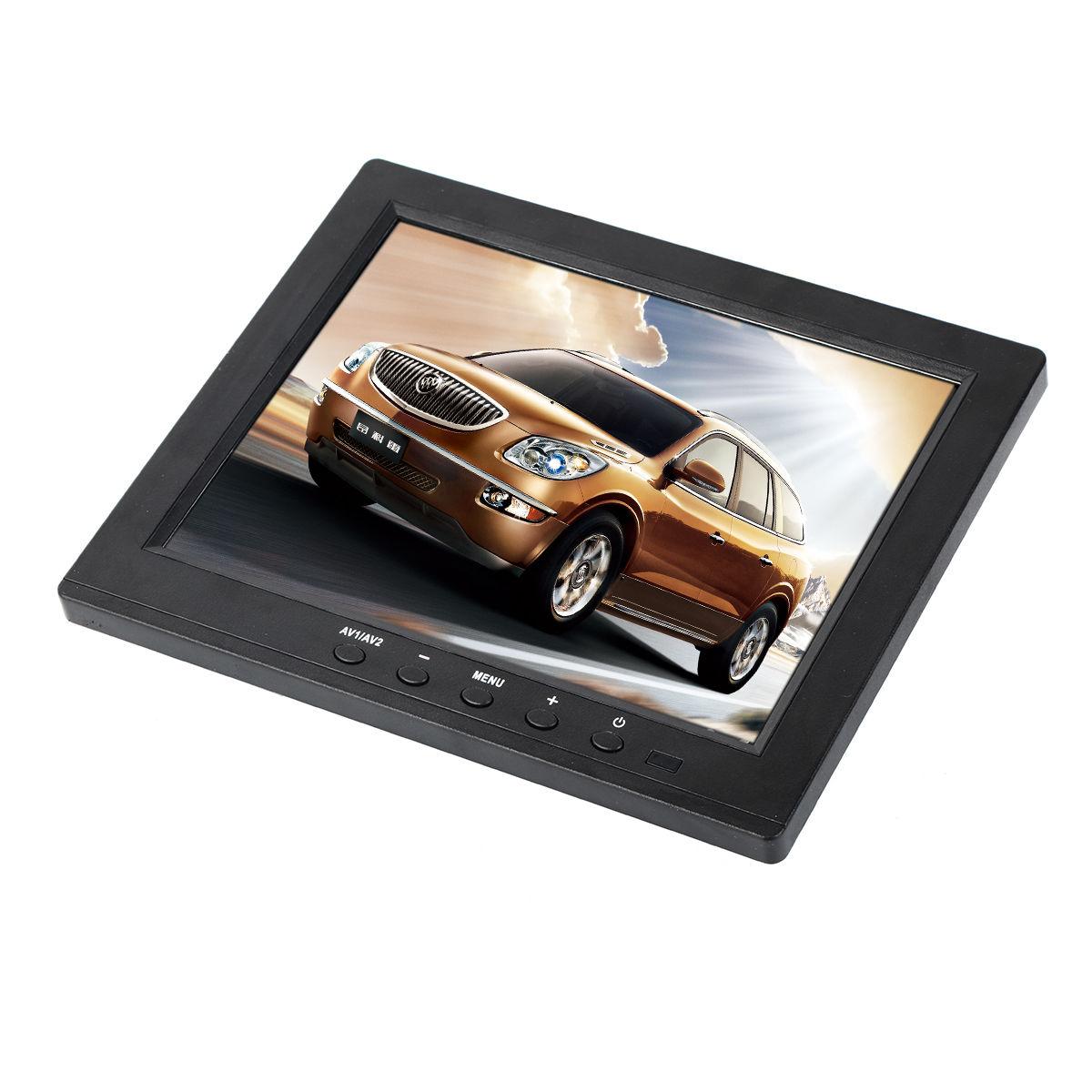 New-8-034-TFT-Car-Reverse-Surveillance-CCTV-Display-BNC-AV-VGA-HDMI-input-Monitor