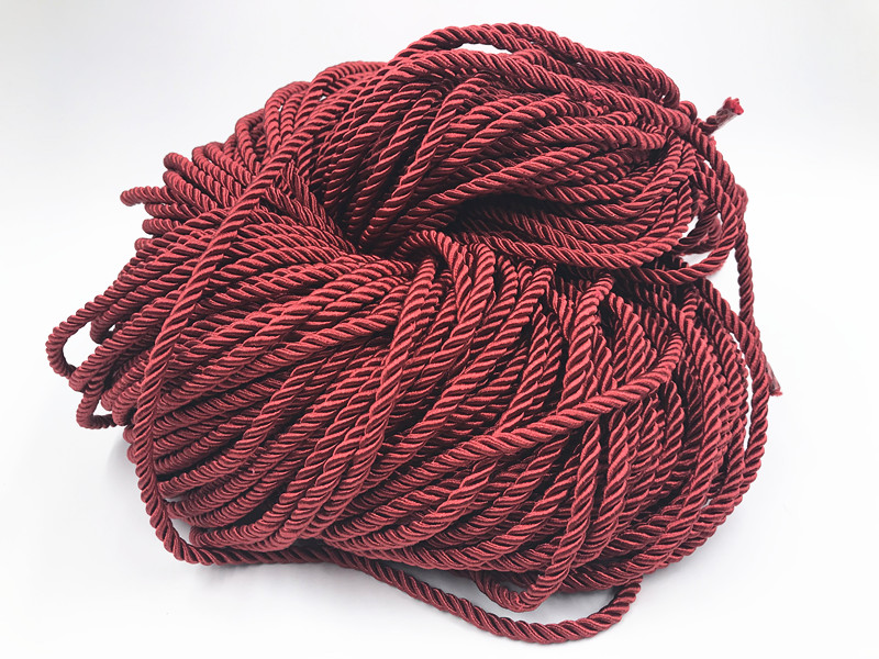 5 mm Twisted Soutache Braid  Braided Cord Rope Piping Cushion Edging 1//3//5 yards