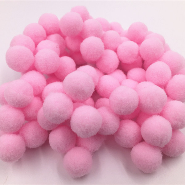 100-1000x DIY  green Color Mini Soft Fluffy Pom Poms Pompoms Ball 8mm