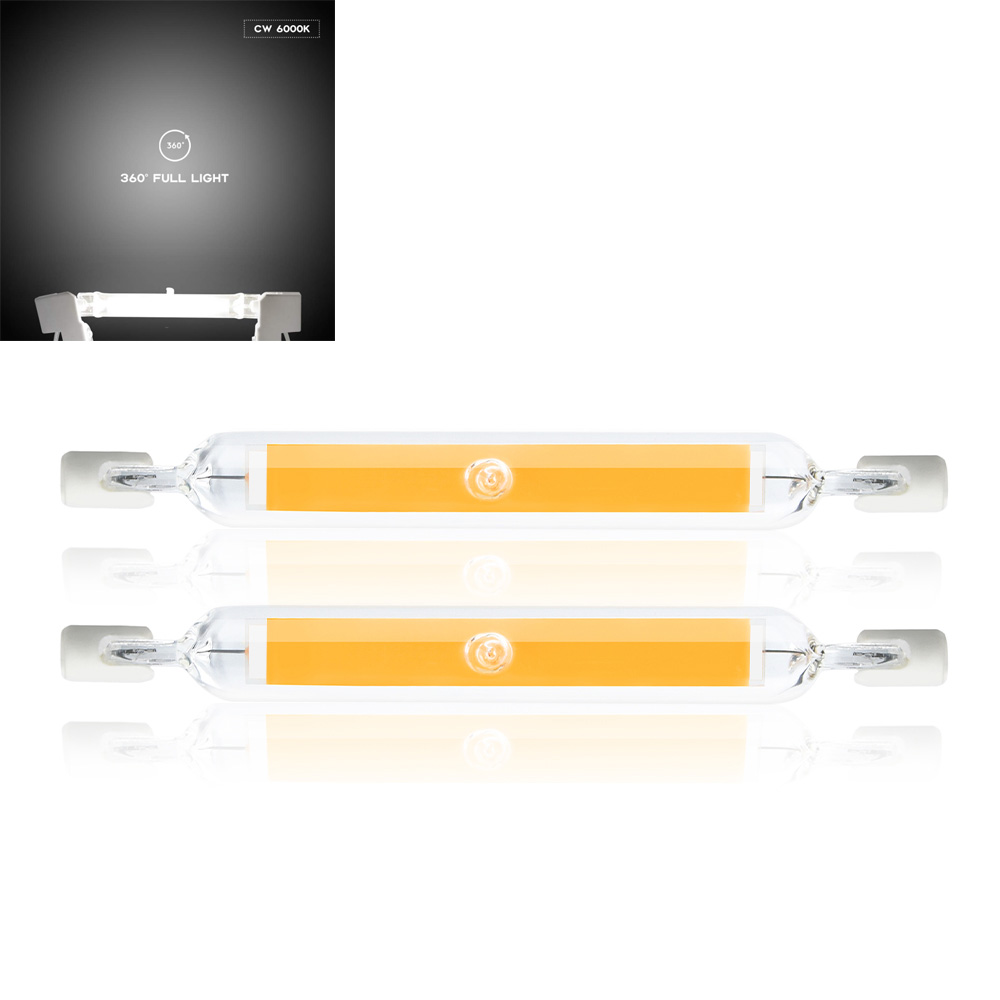 Details About R7s Led Bulb 78mm 5 Watt R7s Base Bulb 100 Watt R7s Halogen Light Bulb Daylight