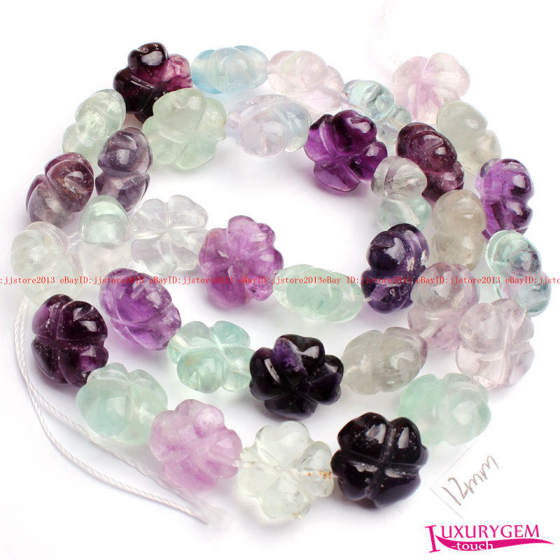 """6MM Natural Round smooth fluorite Jewelry Making loose GEM beads strand 15/"""" AAA"""