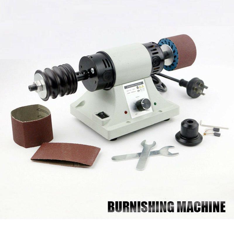 110//220V Leather Polishing Burnishing Machine Leather Edge Grinding Machine New