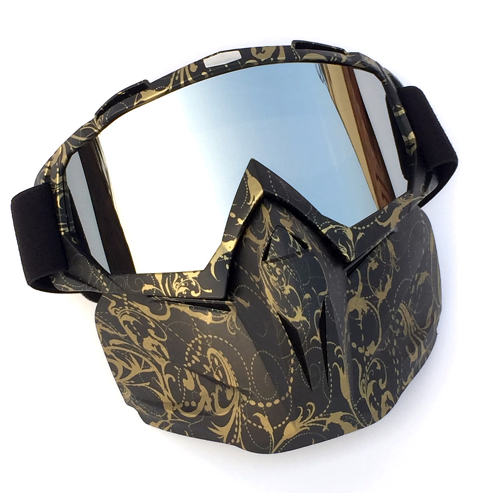 Military Airsoft Tactical Mask Adjustable Paintball Anti Fog HD Visual Goggles