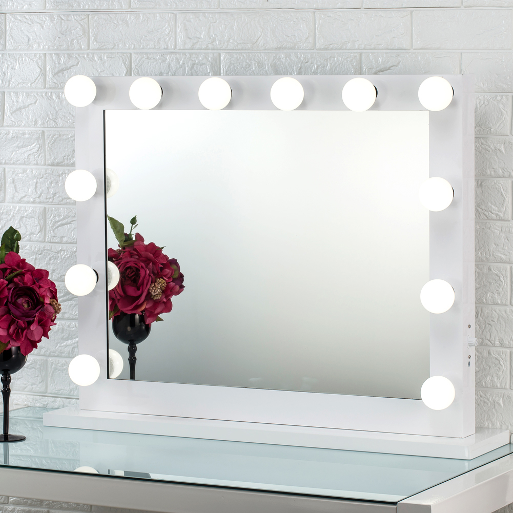 Hollywood Makeup Mirror With Lights Vanity Lighted Beauty Dressing Room