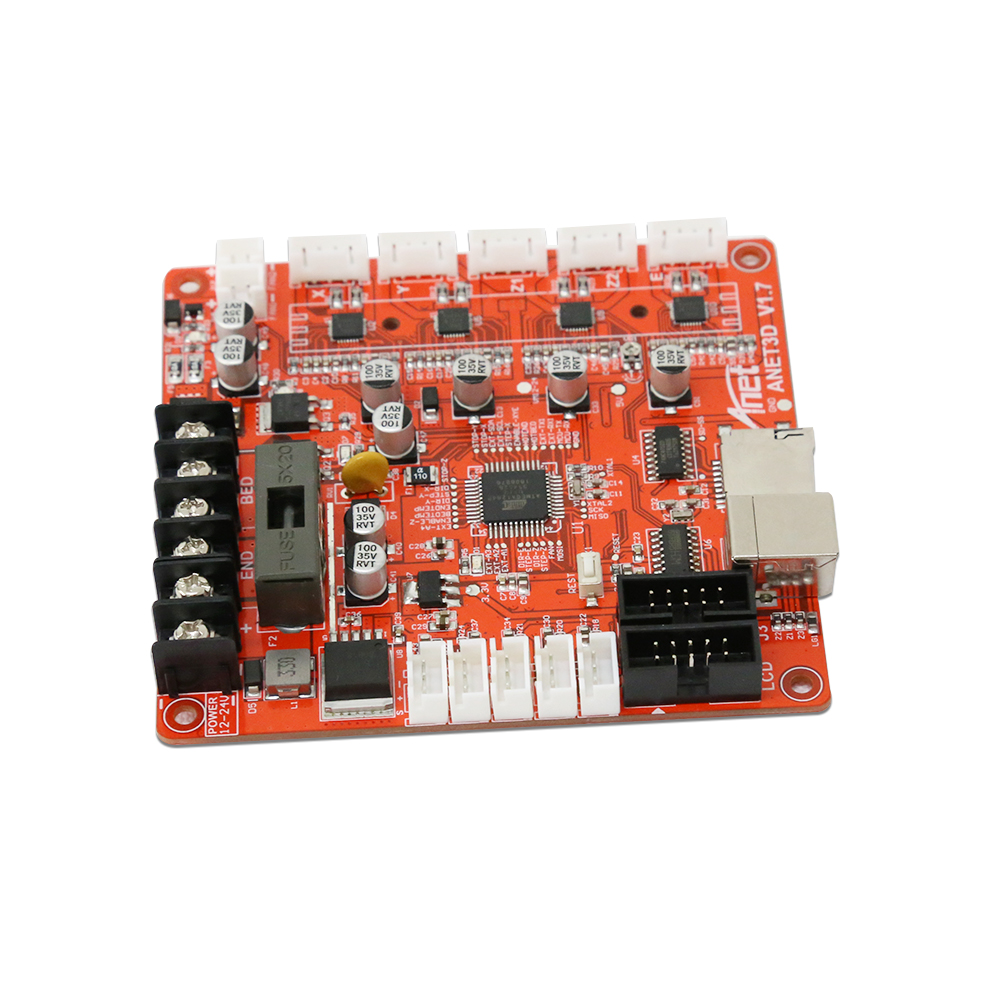 Anet Auto A8 V1.5 Replacement Assembly 12V Control Board Mainboard Mother Board