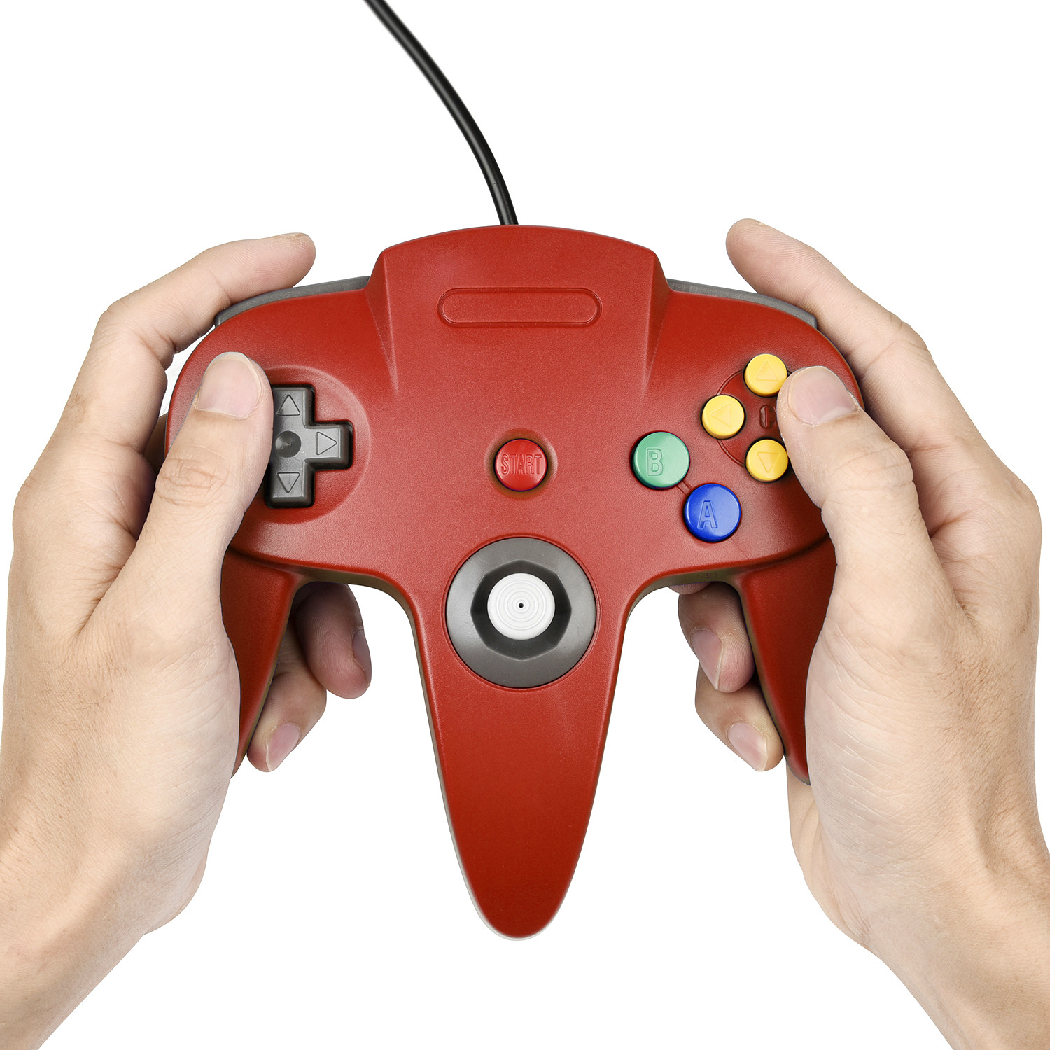 Wired Handle Gamepad Controller for N64 System (Nude Pack