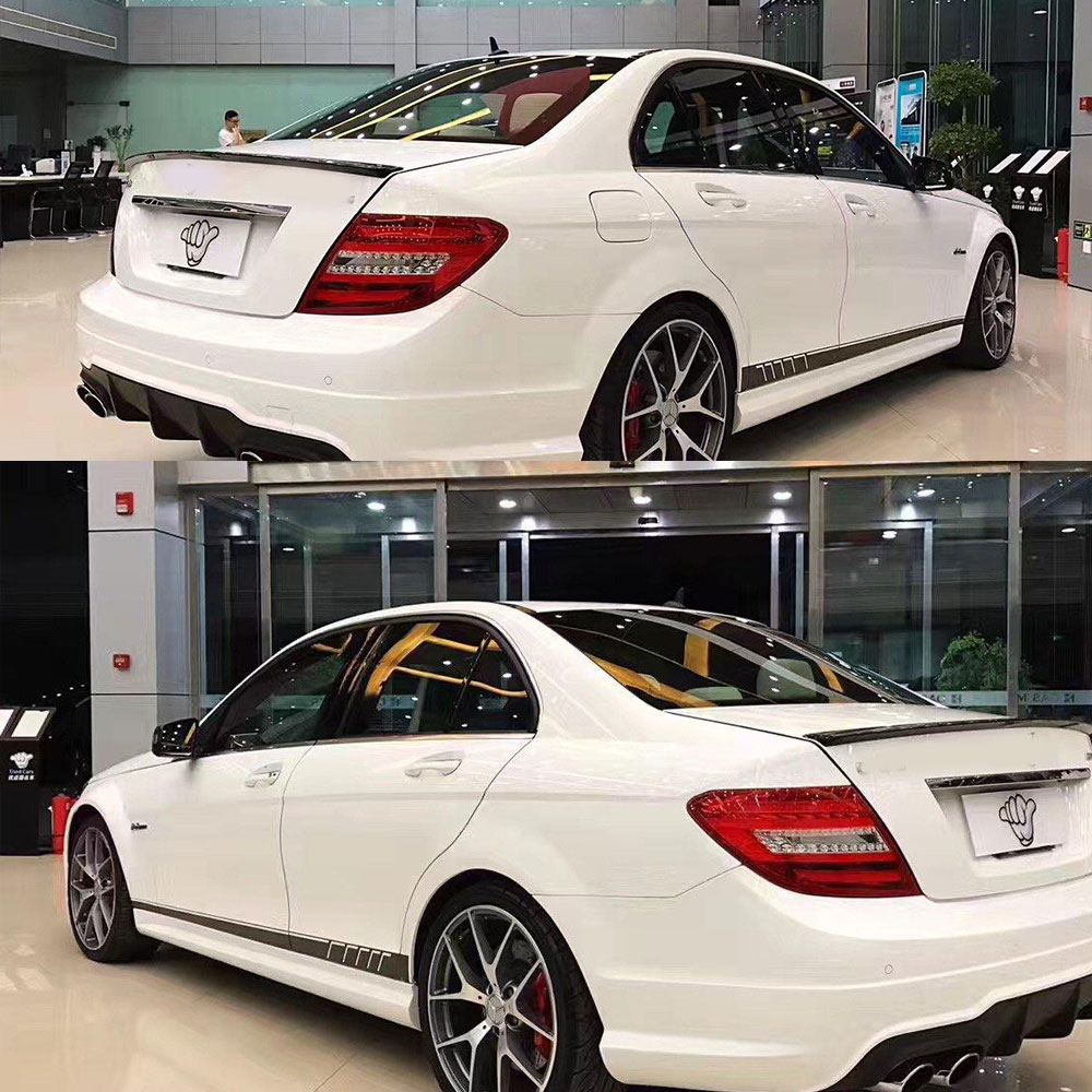 507 style stripes sticker for mercedes benz s204 w204 for A mercedes benz product sticker