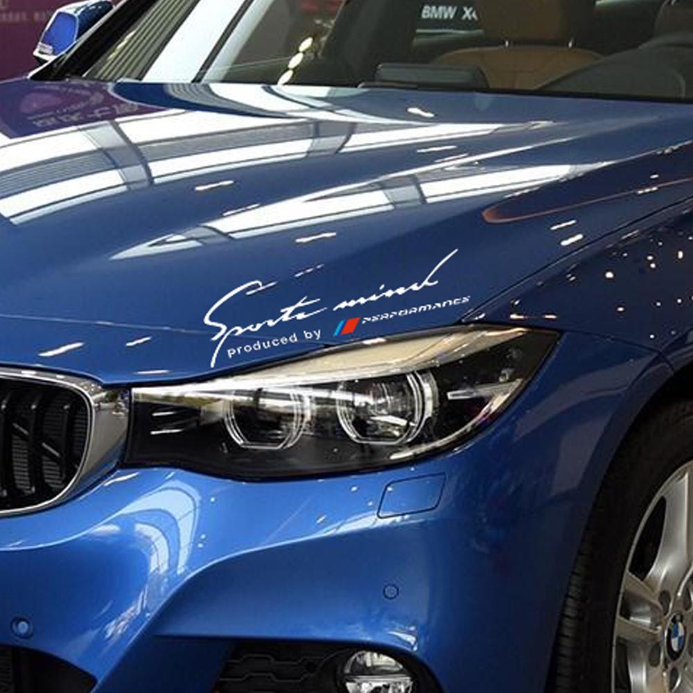 Sports Mind Headlight Eyebrow Decal Sticker Graphic for BMW e36 e39 e30 e46 e90