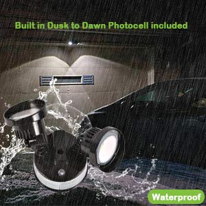Hykolity 20w Dusk To Dawn Led Security Light Outdoor Wall