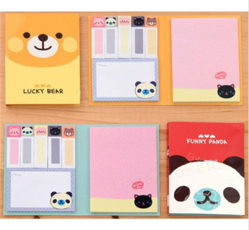 1Pc Portable Cute  Paper Diary Notepad Memo N Post Sticky Notebook hot