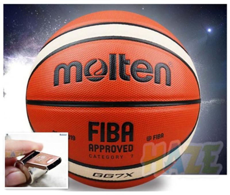Détails sur Basketball Molten GG7X 7 PU Hommes Entraînement Ball+Sifflet+Net+Épingle FGH