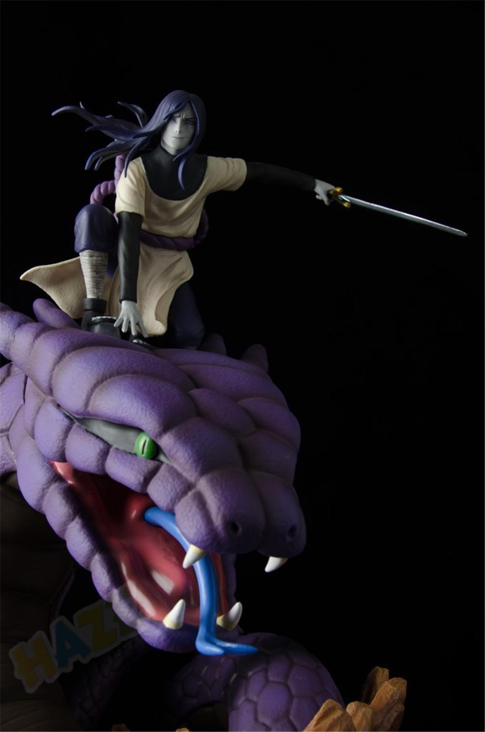STR Naruto Orochimaru Resin Figure Statue GK Model Figurine Collectibles New