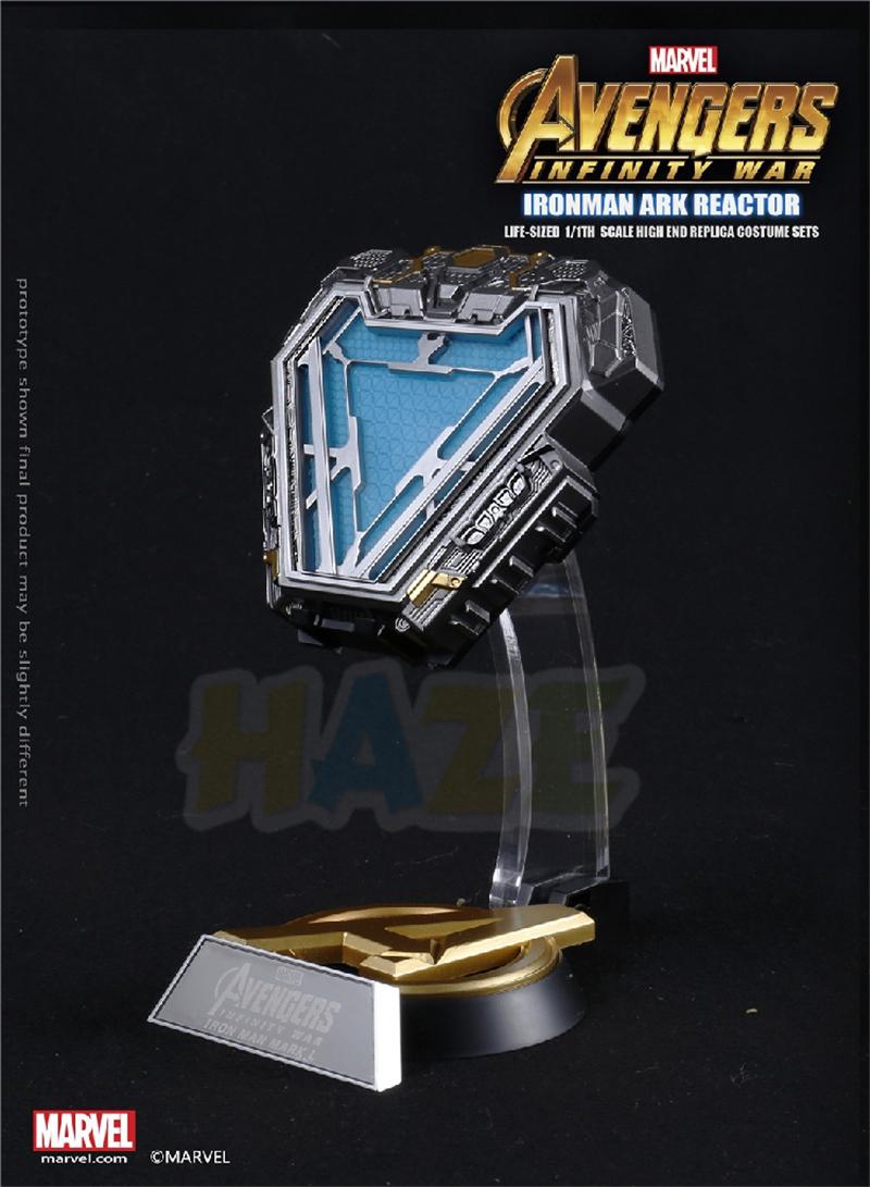 Marvel sous licence Iron Man MK50 MK L modèle de réplique de réacteur à arc