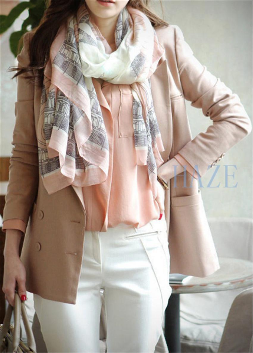 New Women Long Cotton Scarf Wrap Ladies Shawl Girls Large Silk Scarves BEST GIFT