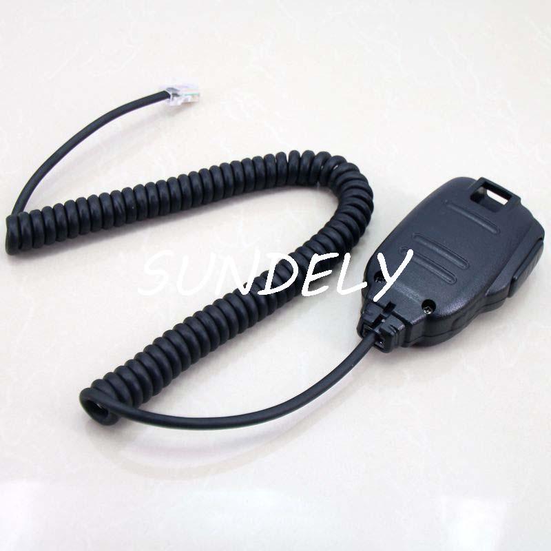 For ICOM HM-133V DTMF Mic  IC-2720H//2725E//2820H//208H//E208 Microphone US STOCK