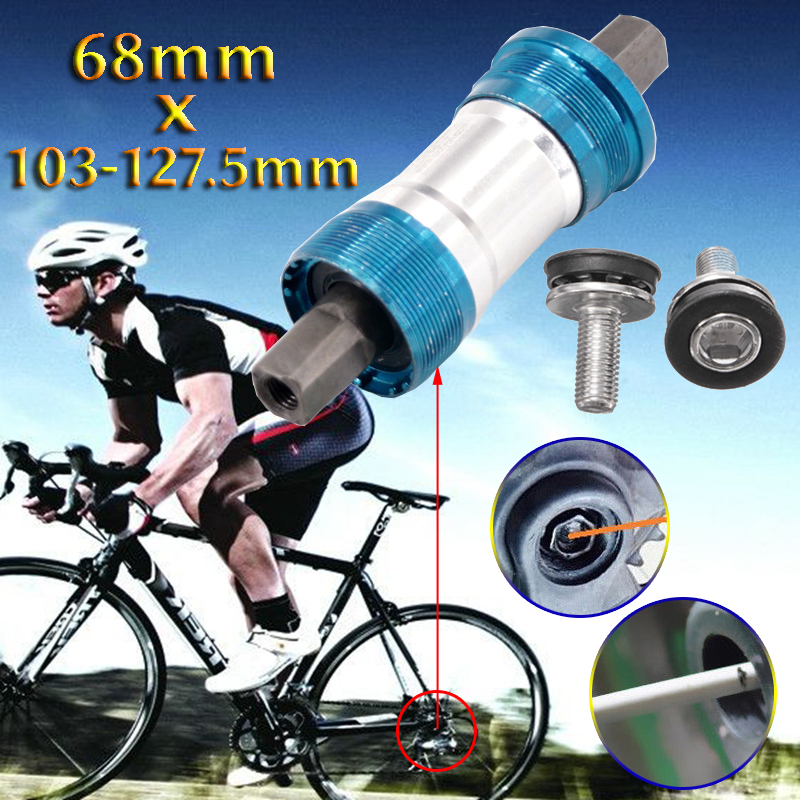 68mm Bike Bicycle Bottom Central Bracket Multiple Axis Square Taper MTB Road