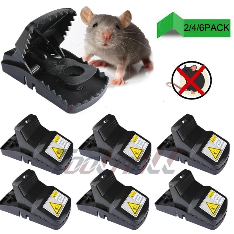 LOT High Sensitive Big Plastic Rat Traps Mouse Rat Trap Catcher Snap Trap US