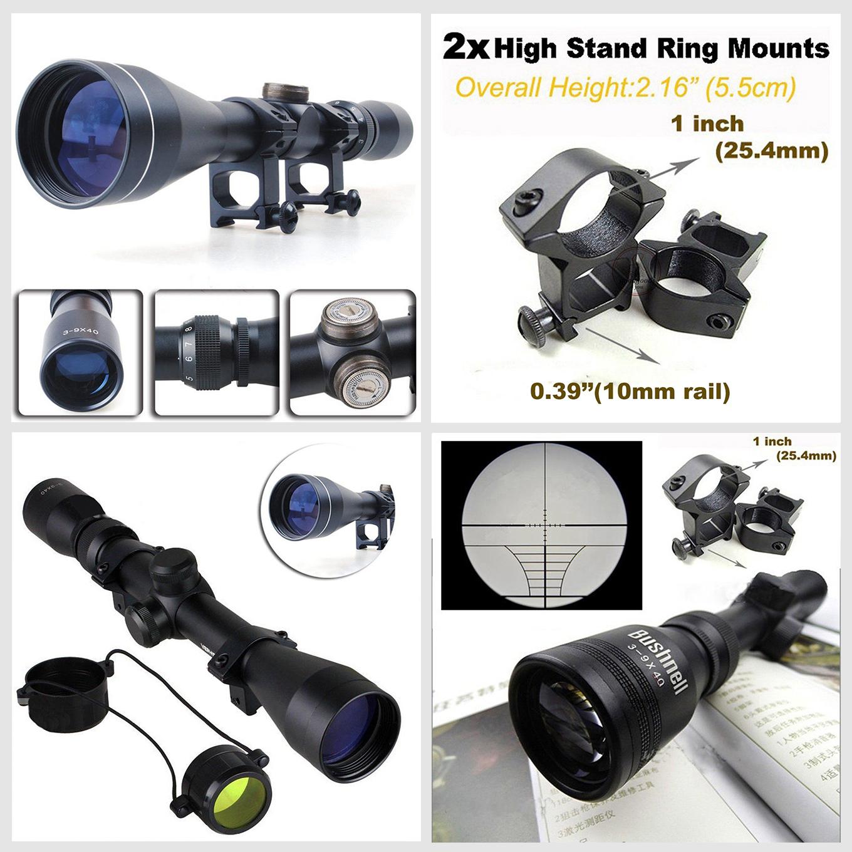 3 9x40 Mil Dot Air Rifle Zoom Sniper Gun Tactical Airgun