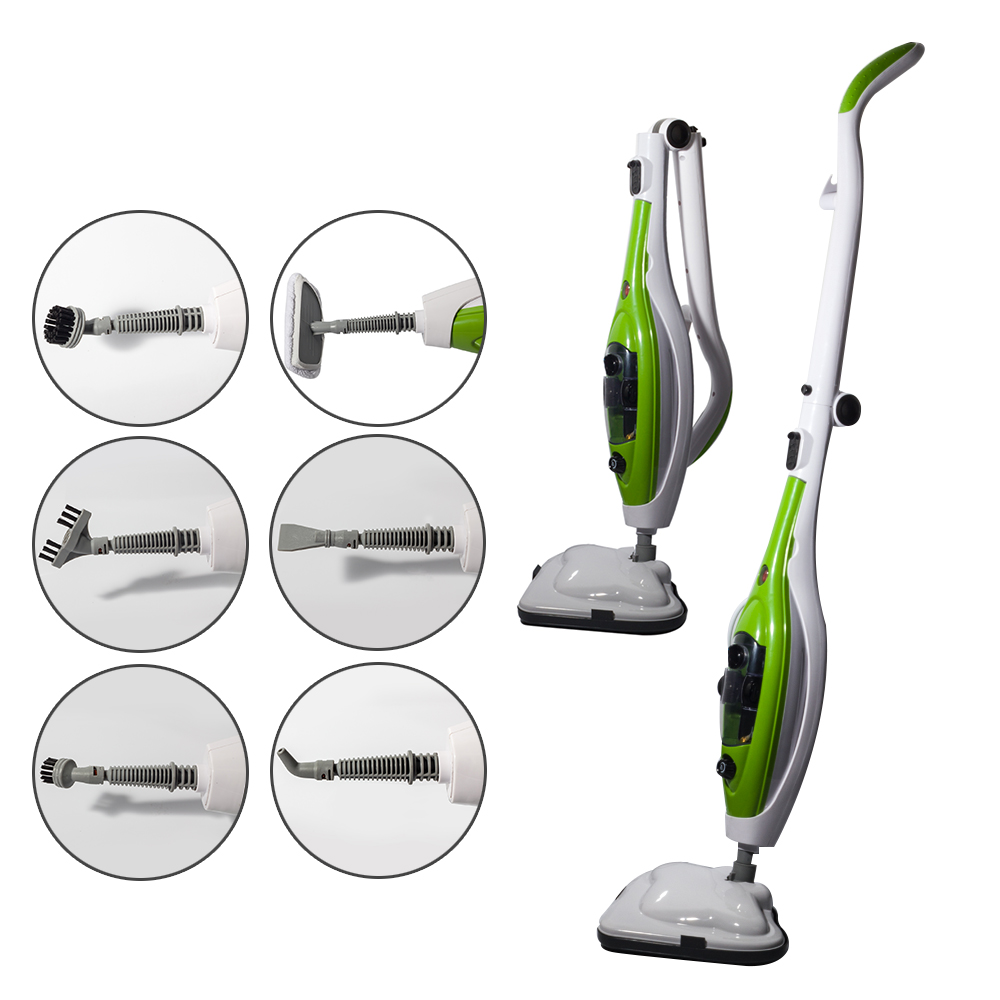 10 in 1 multifunction floor steam mop steaming cleaning for Steam mop 17 in 1