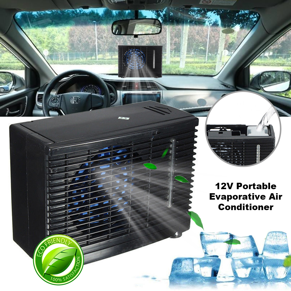 12V Portable Car Air Conditioner Home Evaporative Water