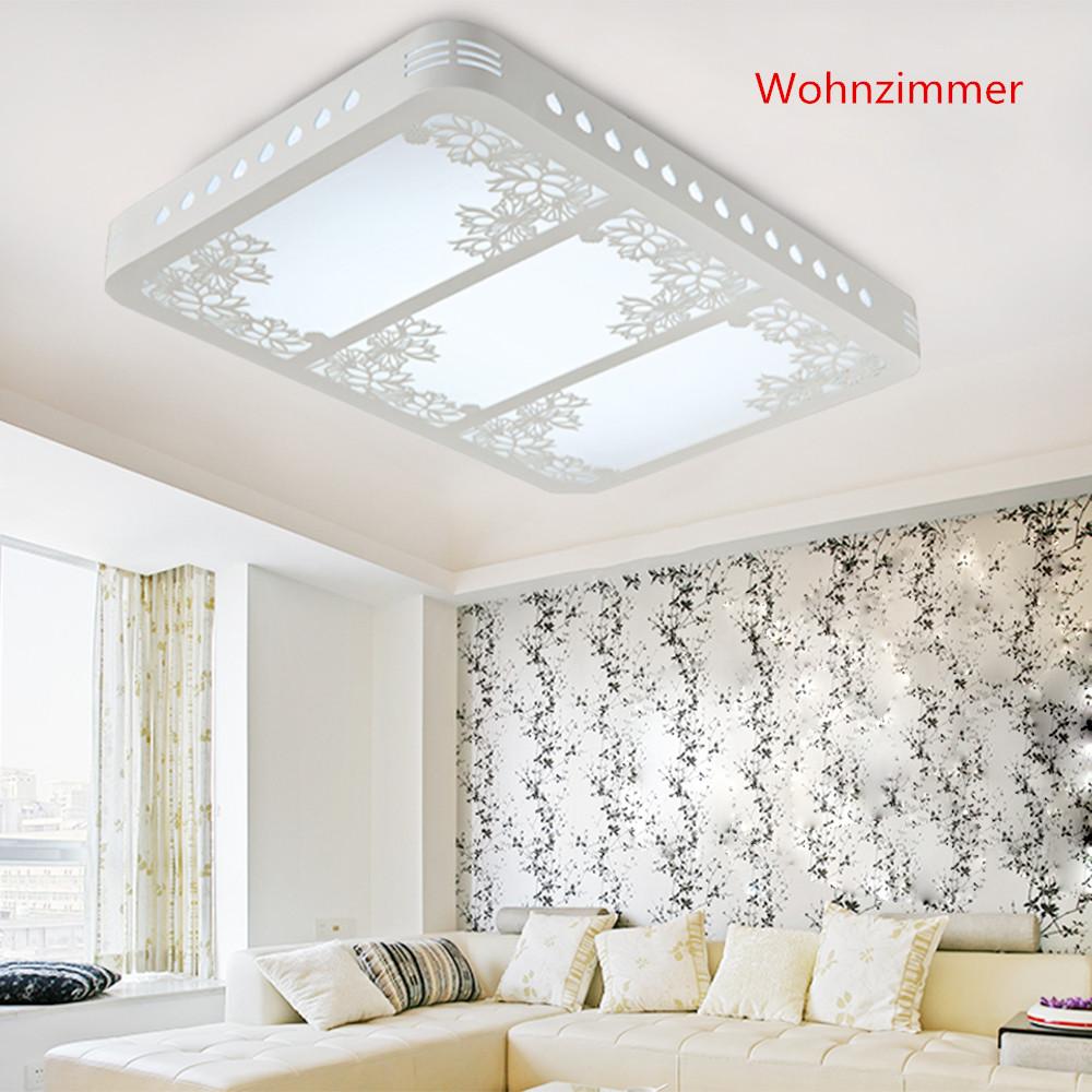 Rabatt 64w led deckenlampe deckenleuchte wohnzimmer holz for Deckenleuchte wohnzimmer dimmbar