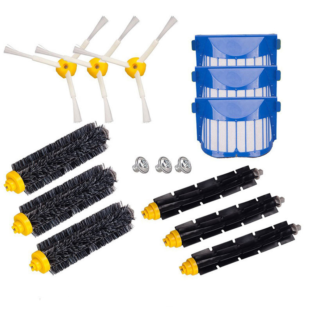 Replacement Accessory Brush Kits for Irobot Roomba 620 650 Series Vacuum Cleaner
