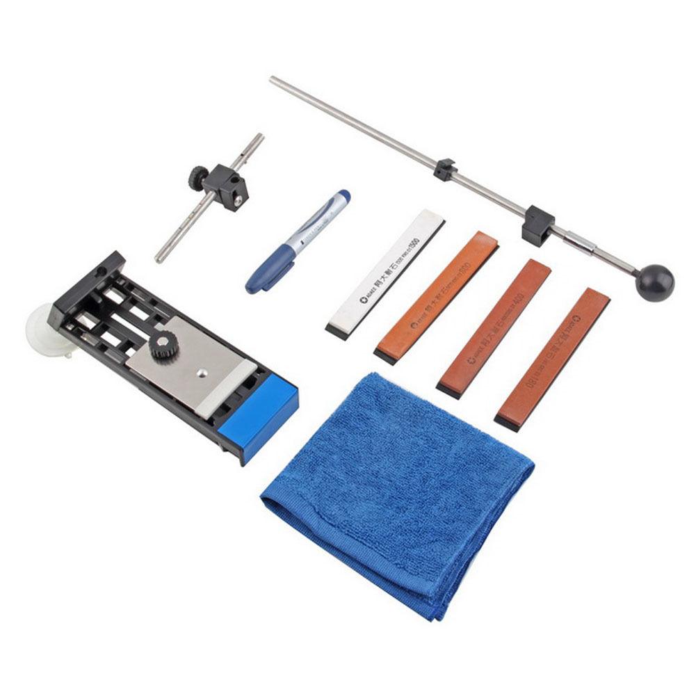 Profi Küche Messerschleifer Messerschärfer Mit 4 Schleifstein Messer  Sharpener