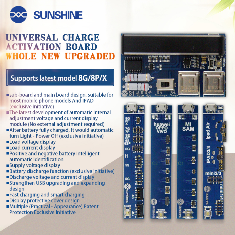 Family Must-Have Repair Tool Professional Universal Charge Activation Board for Phone Convenient