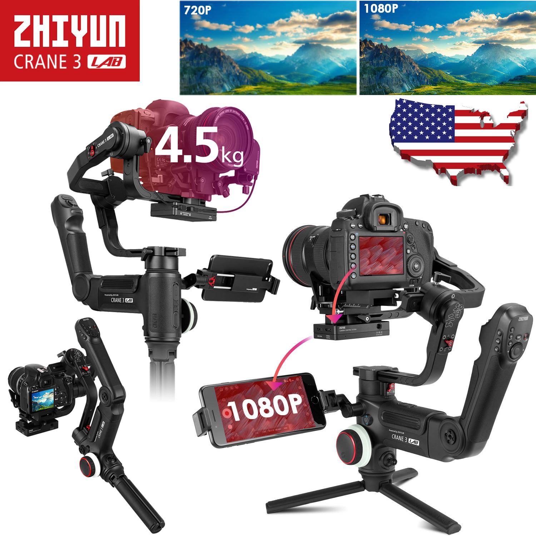 Zhiyun Crane 3 LAB 3-Axis Handheld Gimbal Stabilizer for DSL