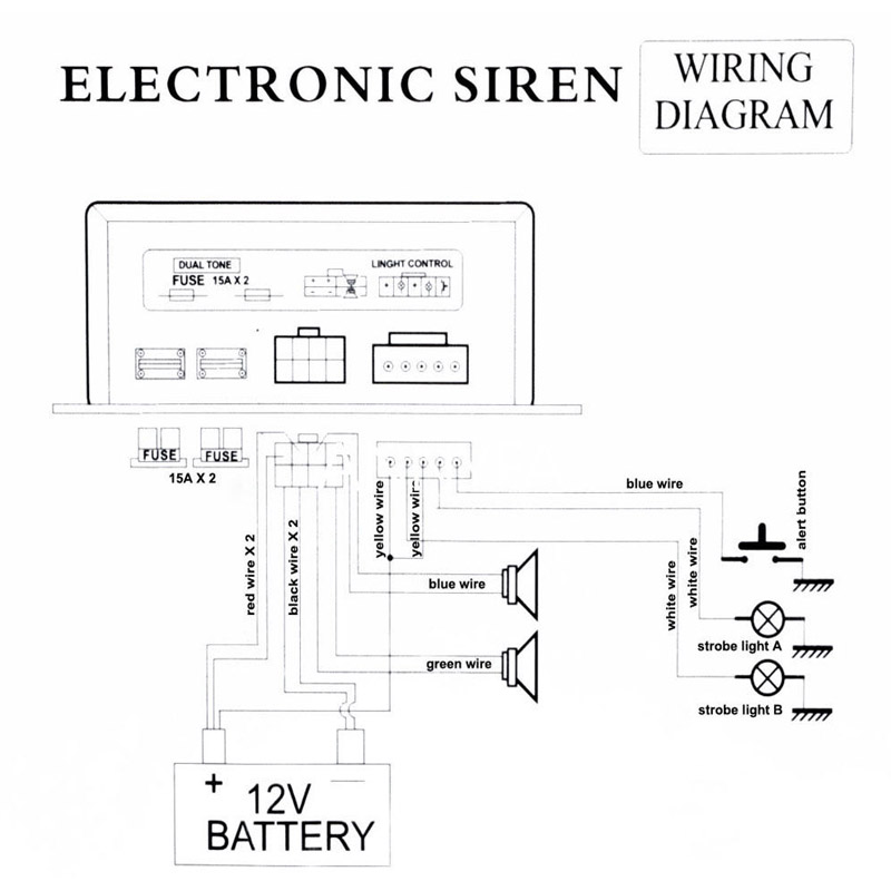 Car Alarm Siren Wiring