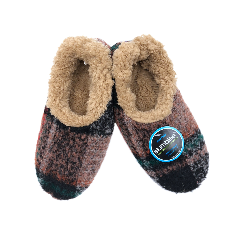 Slumbies Men's Classic Fluffy Fur Non-Slip Slipper Soft Socks Family Gift 2018