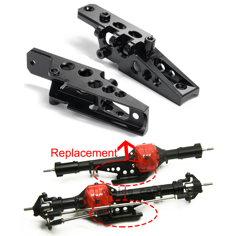1Pair Alloy Axle Shock Link Mount For AXIAL Wraith 90048 RR10 1//10 RC Crawler US