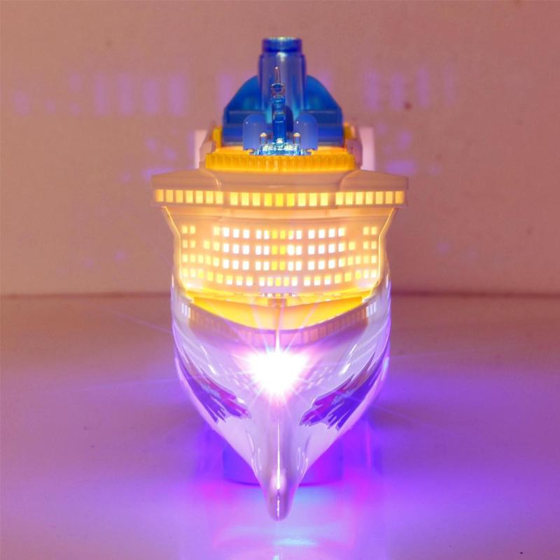 Electric Flashing Light Music Cruise Ship Boat Model Ocean Liner Children's Toy 625678422666 | eBay