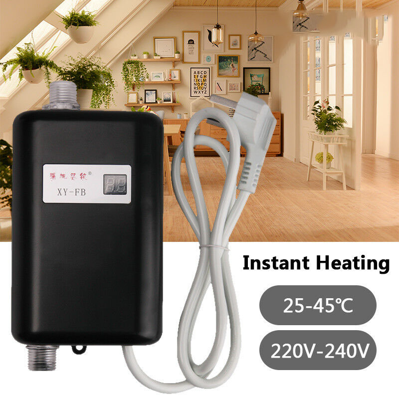 Mini Tankless Electric Instant Hot Water Heater Bathroom