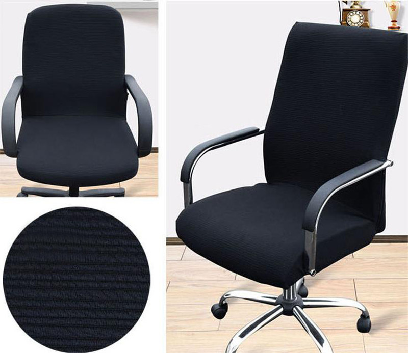 1PC Chair Cover Removable Elastic Office Armchair Seat