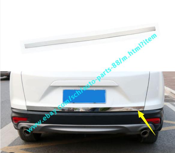 Stainless steel Rear Tail Gate Molding Trim Cover For HONDA CRV CR-V 2012-2015